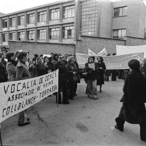 protestes veïnals  transició © SE-GRÀ