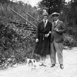 Eugeni Xammar i la seva esposa Amanda