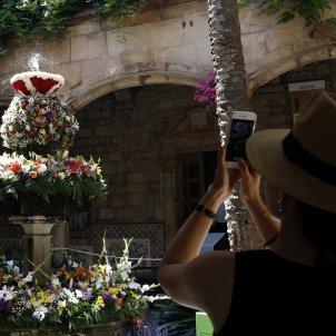 L'ou com balla és una de les tradicions del Corpus a Barcelona. Imatge: ACN.
