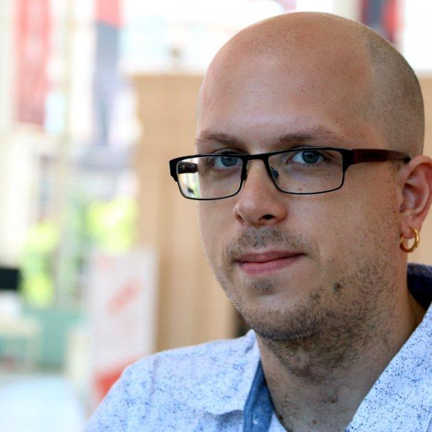 Pol Beckmann, guanyador del premi llibreter/ACN