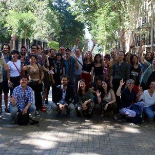 Foto de família participants Fira Tàrrega 2019