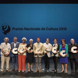 Foto de grup. Premis Nacionals de Cultura Lourdes Aguirre (davidruano fotografia)