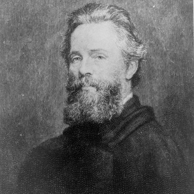 Joseph Oriel Eaton's portrait of Herman Melville