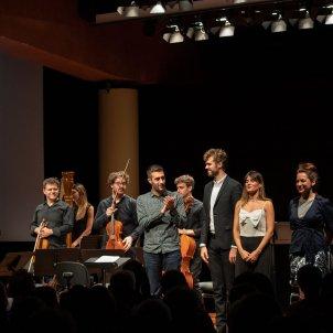 Imatge de la presentació de 'Diàlegs de Tirant e Carmesina' al Liceu