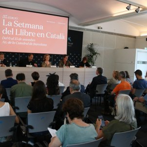 Presentació Setmana del Llibre en català/ACN