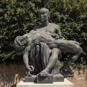 Monument memoria historica cementiri montjuic fossar de la pedrera represaliats catalunya - Sergi Alcazar