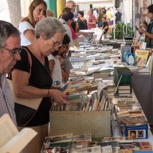 Fira del Llibre del Pirineu Organyà ACN