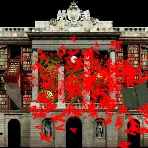 BROSSA DALUMENLAB MappingAyuntamientoBarcelona LaMerce2019