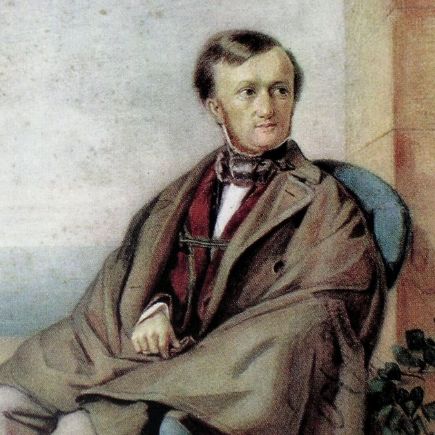 Richard Wagner, Aquarel·la de 1853