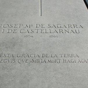 Josep Maria de Sagarra (Tomba)