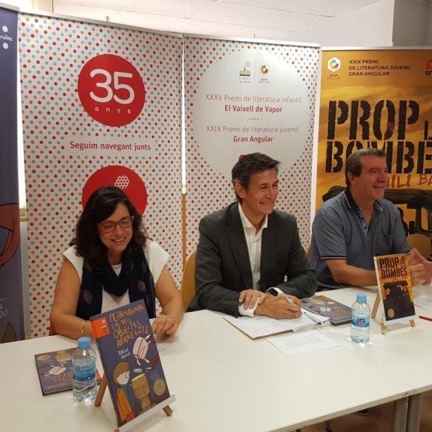 RdP Premis Cruïlla  Josep M. Cervera, Emili Bayo i Teresa Guiluz Neus Chordà