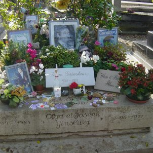 tomb of serge gainsbourg