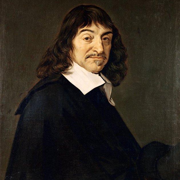 Frans Hals retrat de René Descartes