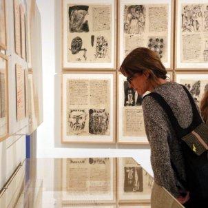 Exposició Picasso Poeta al Museu Picasso/ACN