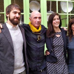 Premi Miquel Martí i Pol, guanyat per Clàudia Cabero. Twitter d'El Tros.