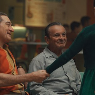 Robert De Niro i Joe Pesci a El irlandés. Netflix