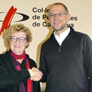 neus bonet joan maria morros Col·legi de Periodistes