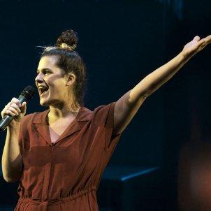 Carla Rovira a Posaré el meu cor en una safata/Ros Ribas Teatre Lliure Sala Fabià Puigserver