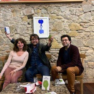 Foto Presentació Deu entrevistes Julià Guillamon