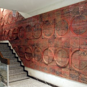 Mosaic Subirachs desaparegut/Espai Subirachs