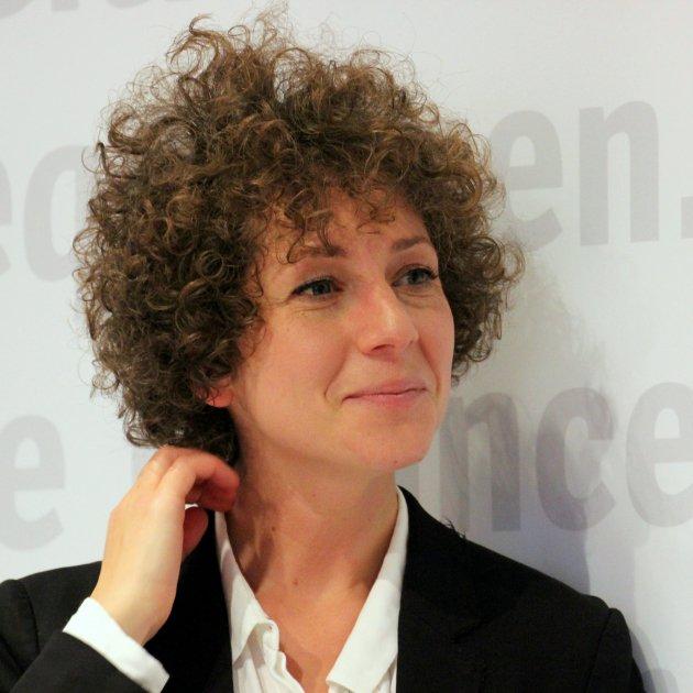 Marianna Salzmann auf der Frankfurter Buchmesse 2017/By Heike Huslage-Koch