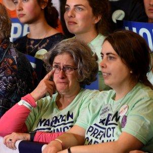 Partidaris de Warren, Des Moines, Iowa, EUA 20200203 (Matt Marton, EPA EFE)