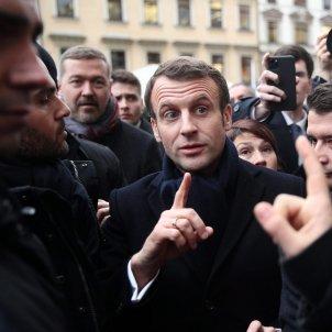 Emmanuel Macron president França - Efe