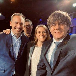 Puigdemont televisió francesa Twitter @lafautealeurope