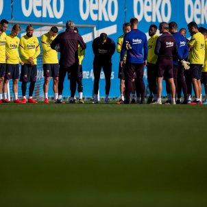 Setién entrenament Barça EFE