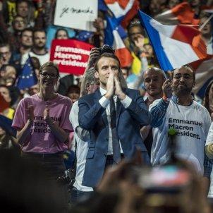 Macron, candidat d'En Marche / EFE