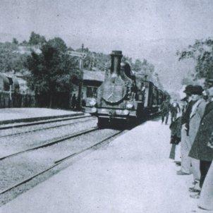 La llegada de un tren a la estación de La Ciotat