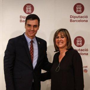 Pedro Sánchez i Núria Marín 2   Sira Esclasans