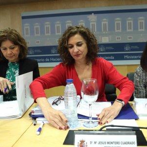 María Jesús Montero política fiscal - efe