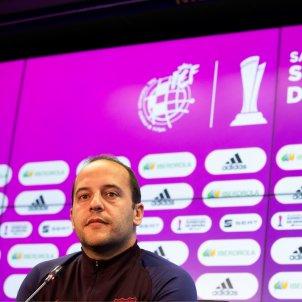 Lluís Cortés Supercopa EFE