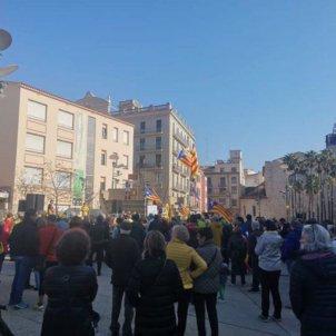 manifestació girona independentista - acn