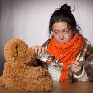 Mujer gripe Pixabay