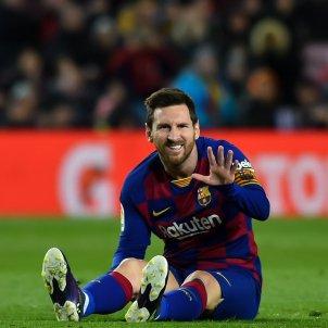 Messi assegut EuropaPress