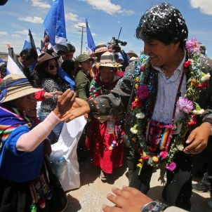 Evo Morales - EFE