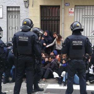 mossos dessallotjament Cinto @ObservatoriClot