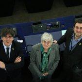 clara ponsati carles puigdemont toni comin parlament europeu - acn
