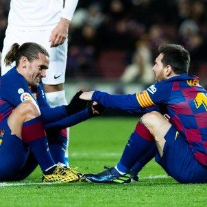 Messi Griezmann Europa Press
