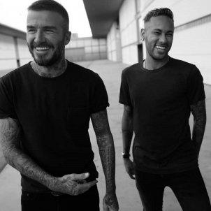 Neymar David Beckham @otro