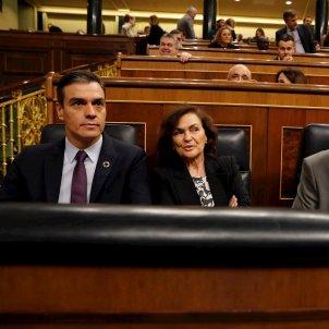 Pedro Sánchez, Calvo i Iglesias 1 EFE