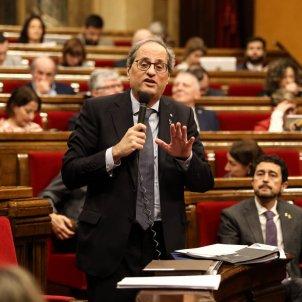 Quim Torra Parlament - Sira Esclasans