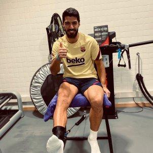 Luis Suárez Barça recuperació lesió @LuisSuarez9