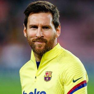 Messi Barça escalfament EuropaPress