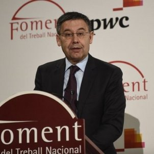 Josep Maria Bartomeu Foment del Treball EuropaPress
