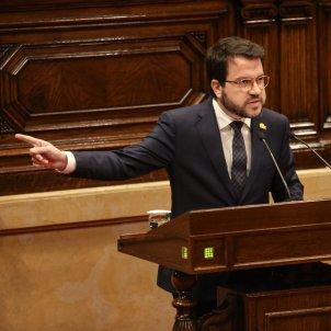 pere aragones pressupostos parlament   sira esclasans
