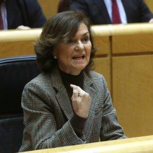 Vicepresidenta Carmen Calvo - Efe