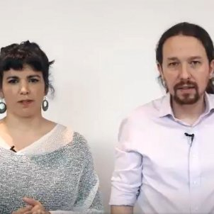 Pablo Iglesias Teresa Rodríguez - @TeresaRodr_